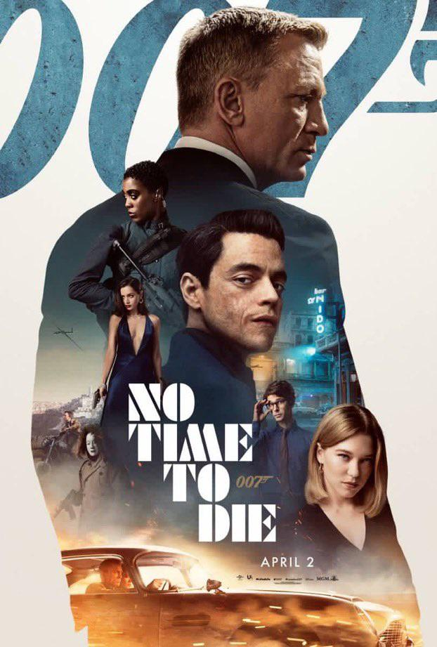 James Bond scatenato: nuovo spot e poster per 007: No Time To Die